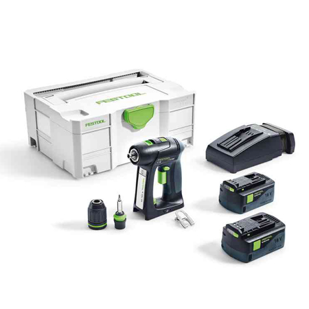 Perceuse-visseuse sans fil C 18 Li 5,2-Plus Festool