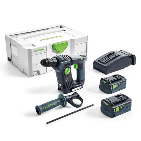 Perforateur sans fil BHC 18 Li 5,2 I-Plus Festool